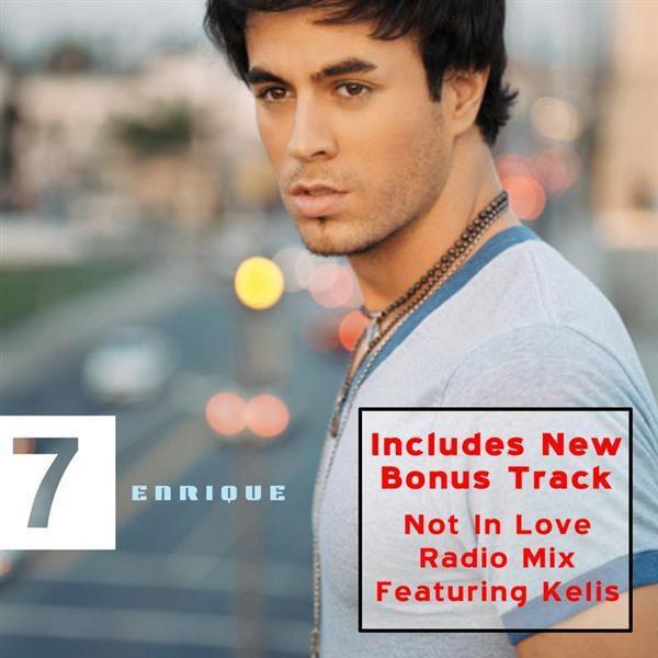 Enrique Iglesias - 7 - MP3 Download | Shop the Musictoday