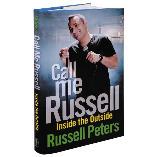 Russell Peters Call Me Russell: Inside the Outside Book