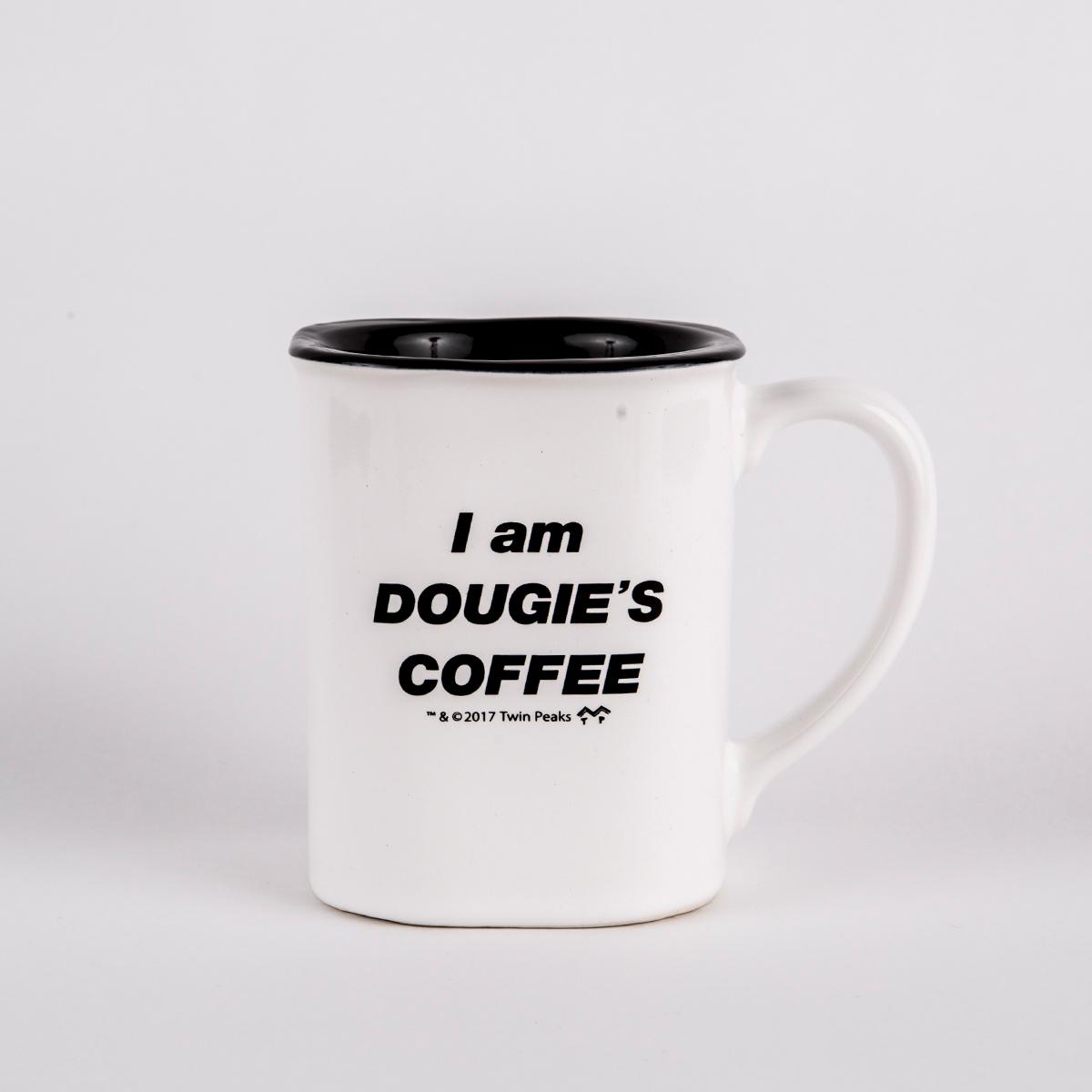 UPC 603307968761 product image for Twin Peaks Dougie's Coffee Mug | upcitemdb.com