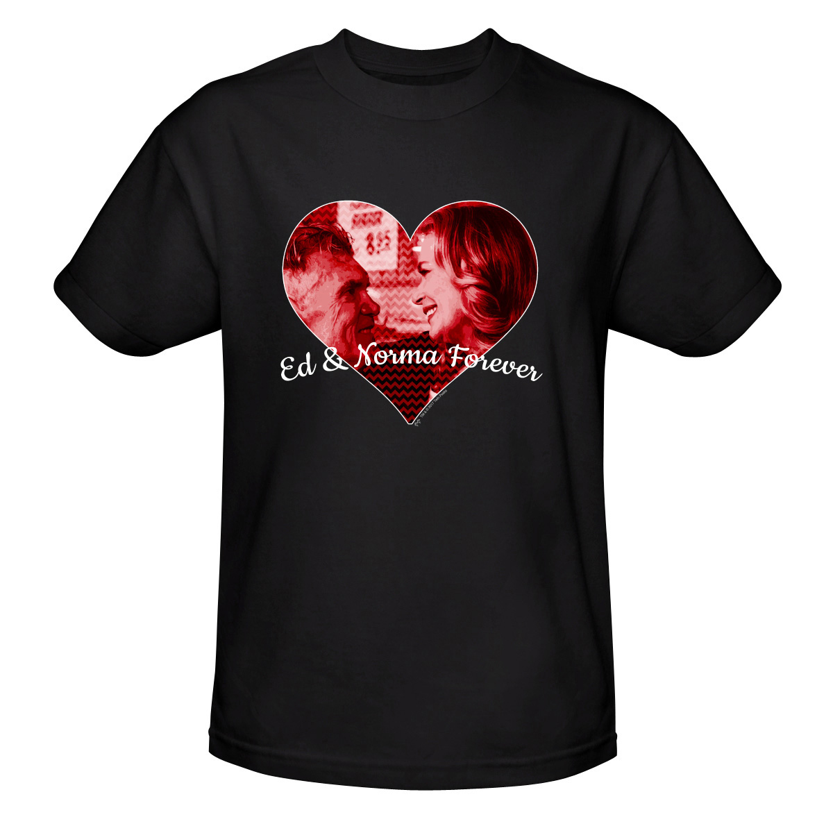 UPC 603307972935 product image for Twin Peaks Ed and Norma T-Shirt - Small - Black | upcitemdb.com