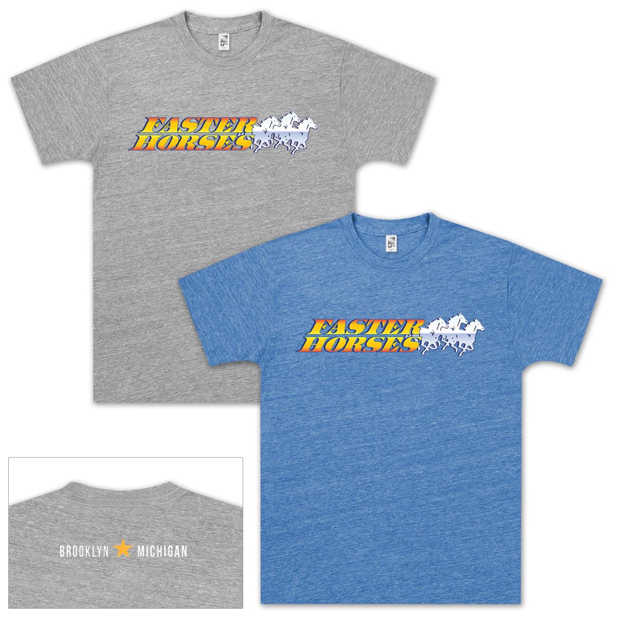 FasterHorses Festival Tri-Blend T-Shirt