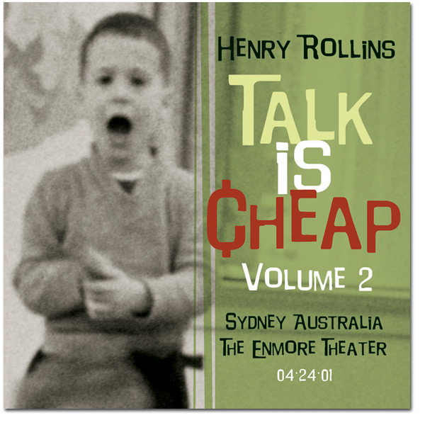 "Henry Rollins - ""Talk Is Cheap Vol. 2"" Digital Download"