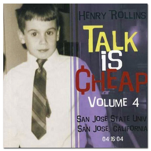 "Henry Rollins - ""Talk Is Cheap Vol. 4"" Digital Download"