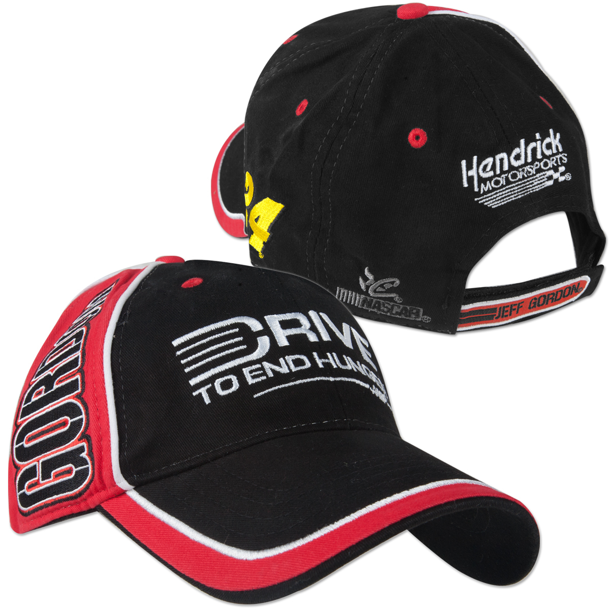 Jeff Gordon #24 AARP BigName Colorblock Hat
