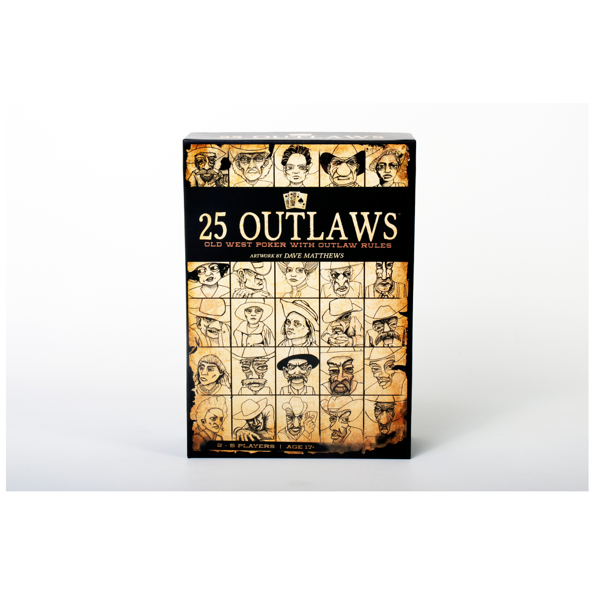 25 Outlaws Card Game