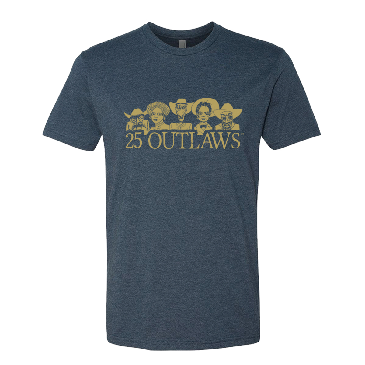 25 Outlaws Character T-Shirt