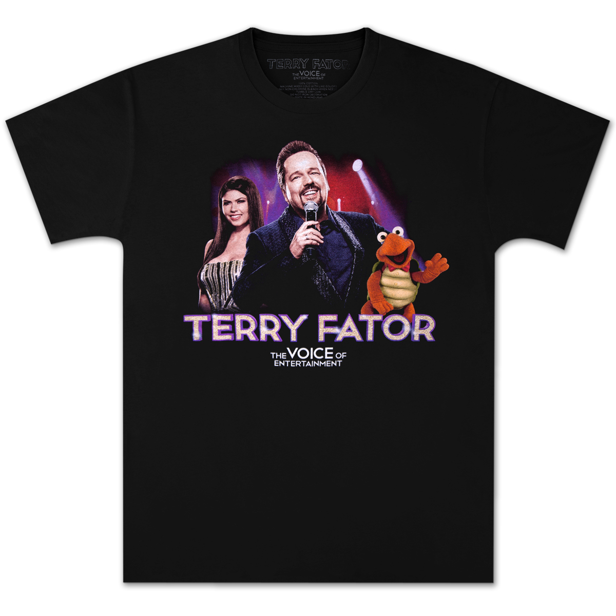 Terry Fator LIVE T-Shirt