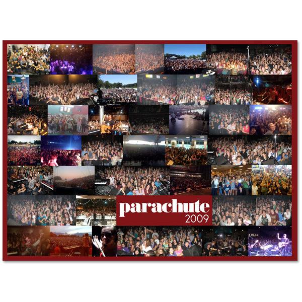 Parachute 2009 Tour Poster