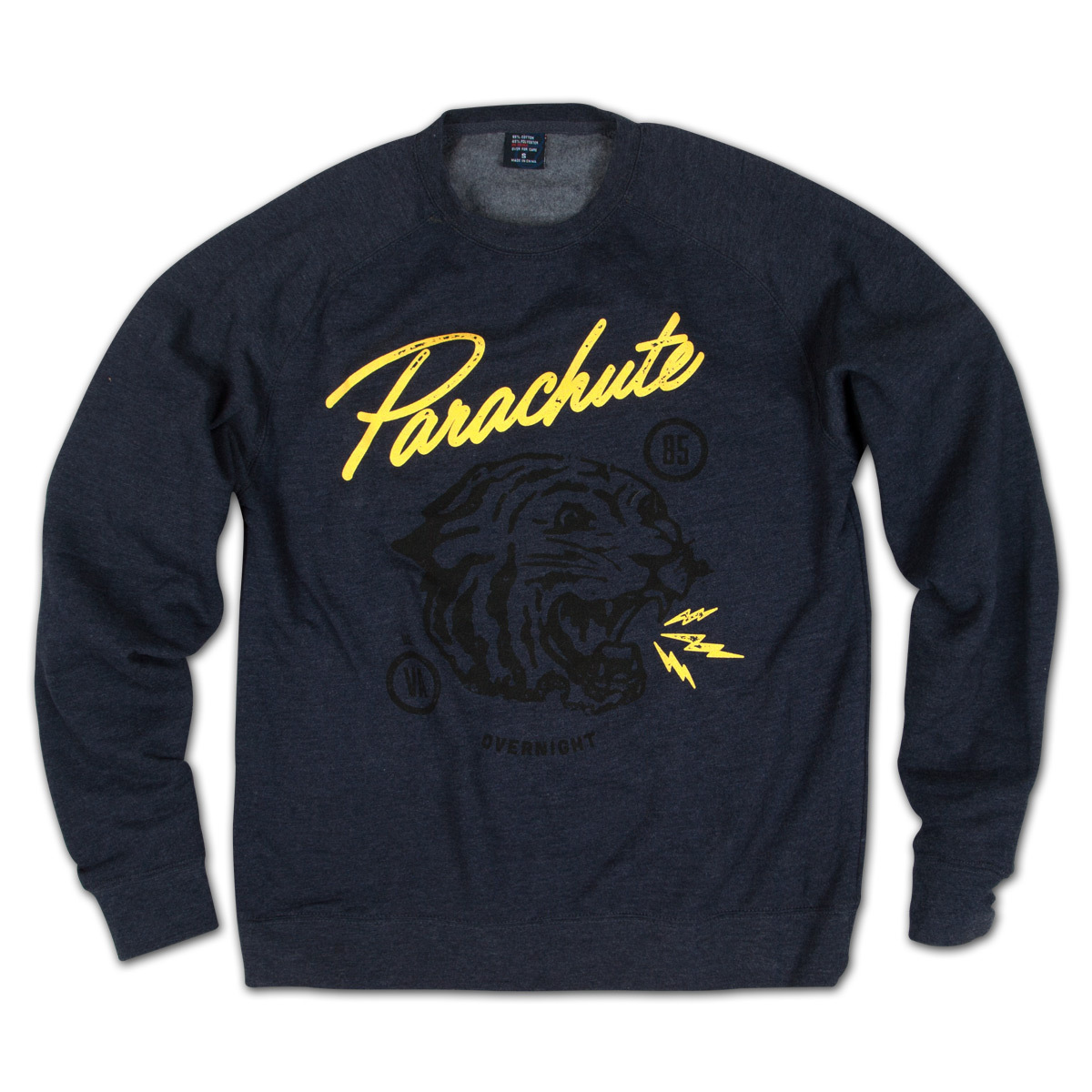 Parachute Black Tiger Sweatshirt