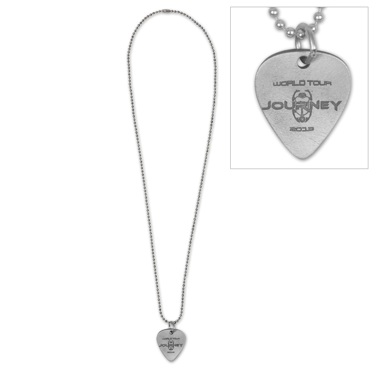Journey 2013 World Tour Guitar Pick Necklace