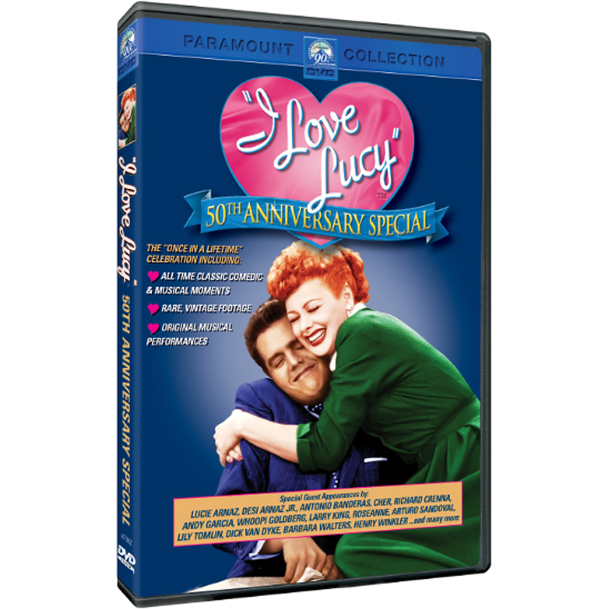 I Love Lucy: 50th Anniversary Special (2001) DVD -  DVDs & Videos 6445-319757