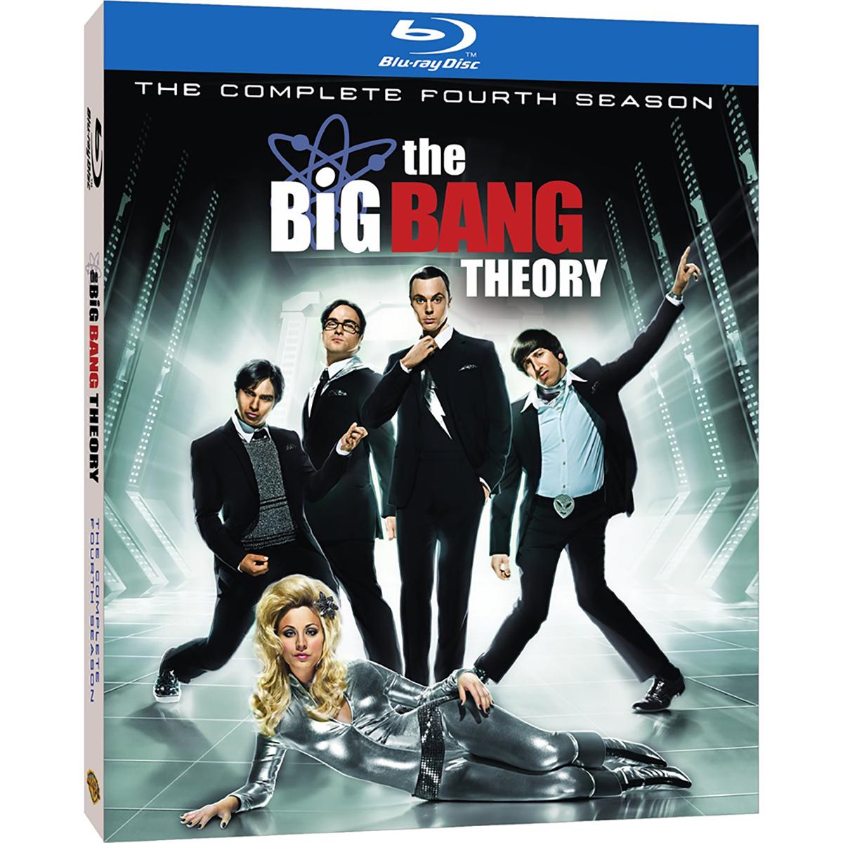 The Big Bang Theory: Season 4 Blu-ray -  DVDs & Videos 4334-363762