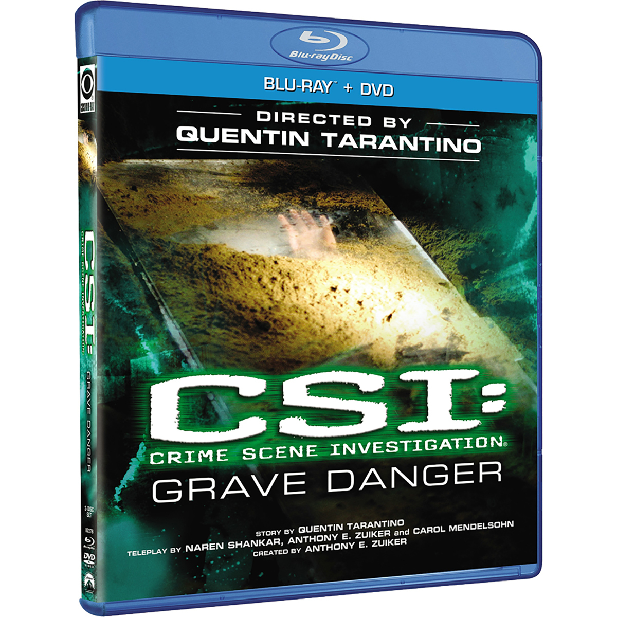 CSI: Crime Scene Investigation - Grave Danger (Blu-ray + DVD Combo) -  DVDs & Videos 6445-366553