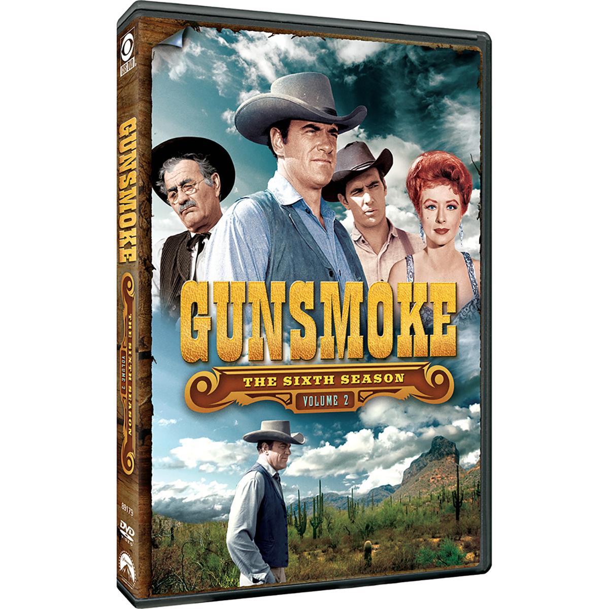 Gunsmoke: Season 6 - Volume 2 DVD -  DVDs & Videos 6445-380671
