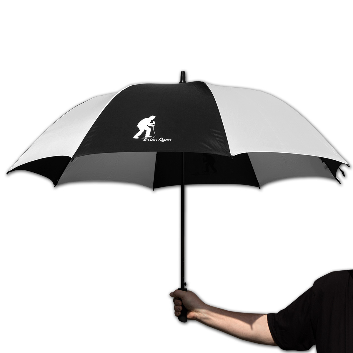 Brian Regan Silhouette Golf Umbrella