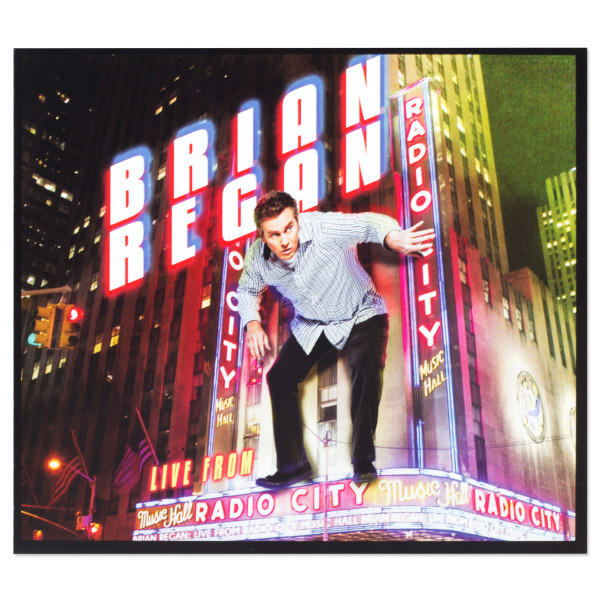 Brian Regan Live From Radio City Music Hall CD