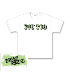 Brian Regan You Too White Youth T-shirt