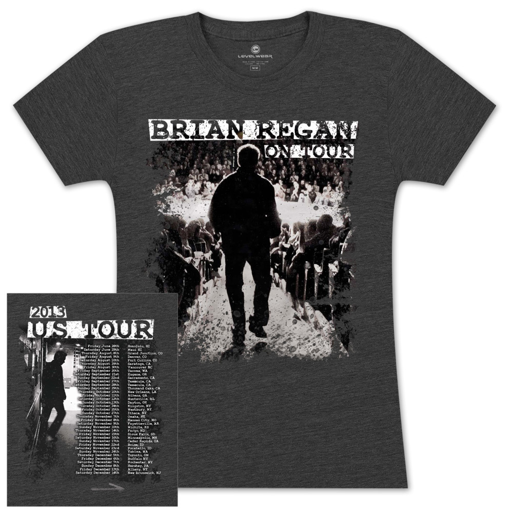 Brian Regan On Tour 2013 Women's Shirt – 2nd Leg, Jun – Dec