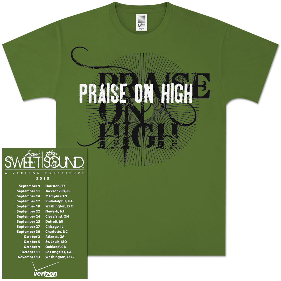 Praise On High Tour Tee (Unisex)