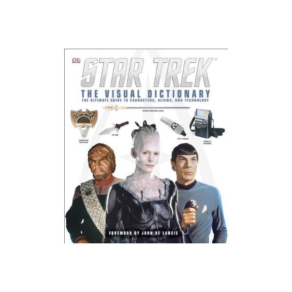 Star Trek: The Visual Dictionary (Hardcover) Book