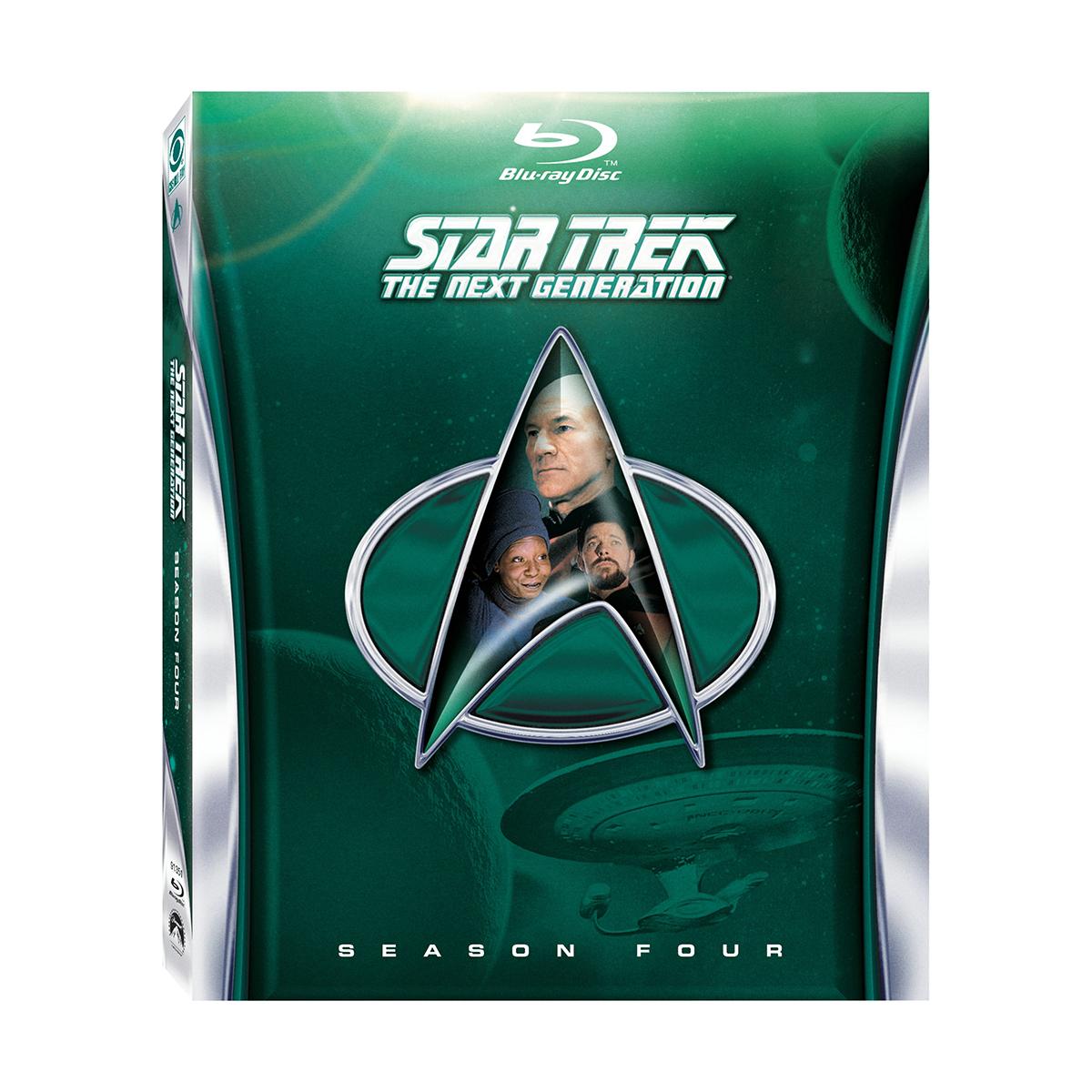 Star Trek: The Next Generation - Season 4 Blu-ray -  DVDs & Videos 2870-452625