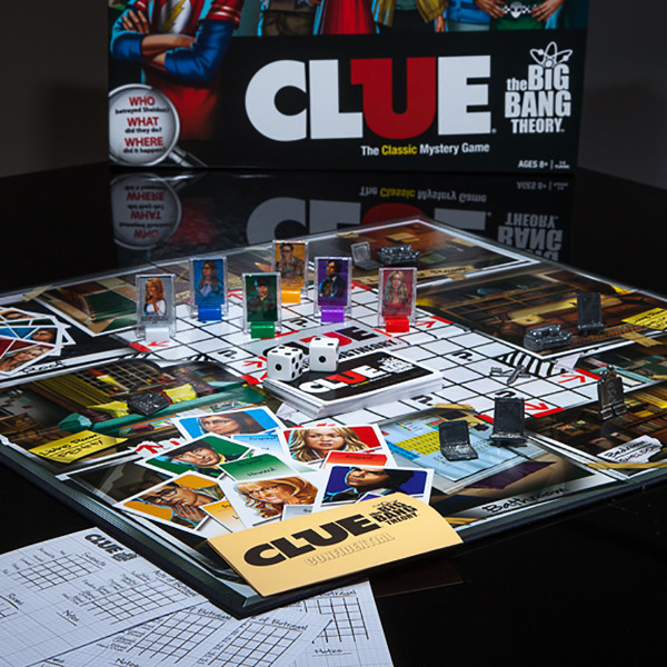 The Big Bang Theory Clue -  Board Games 2870-452811