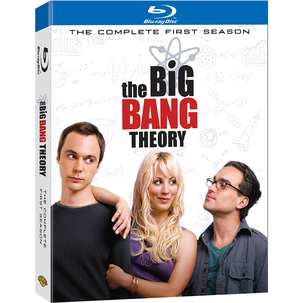 The Big Bang Theory: Season 1 Blu-ray -  DVDs & Videos 2870-478888