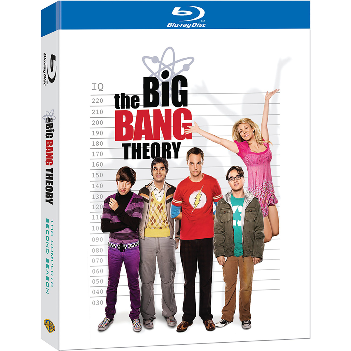 The Big Bang Theory: Season 2 Blu-ray -  DVDs & Videos 2870-478893