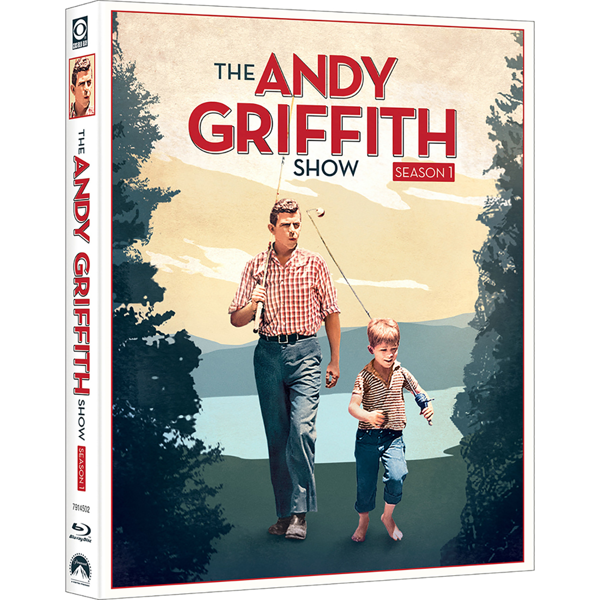The Andy Griffith Show: Season 1 Blu-ray -  DVDs & Videos 6445-496785