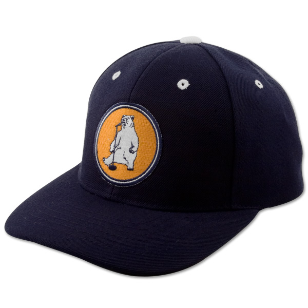 Stand Up Bear Navy Blue Ball Cap