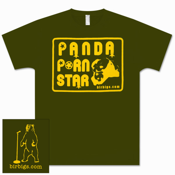 Panda Porn Star Men's T-Shirt