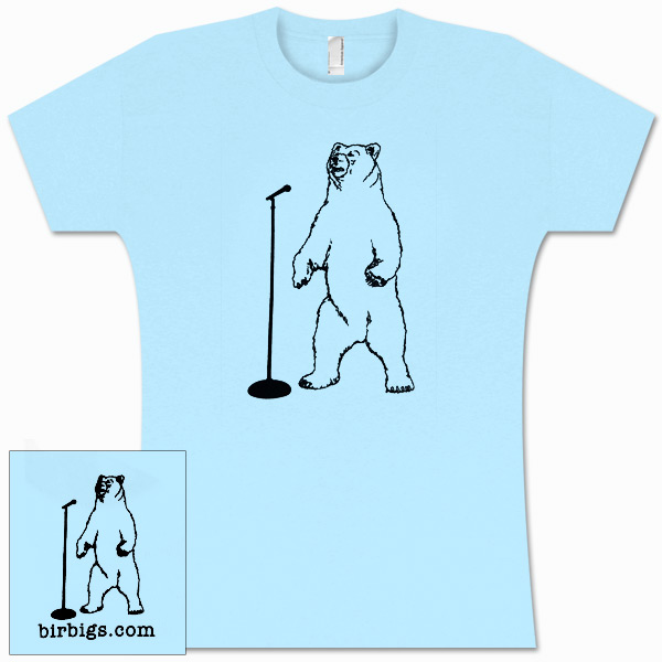 Stand Up Bear Women's T-Shirt