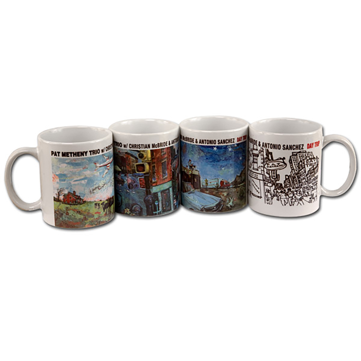 Pat Metheny - Day Trip Mug 4 Pack