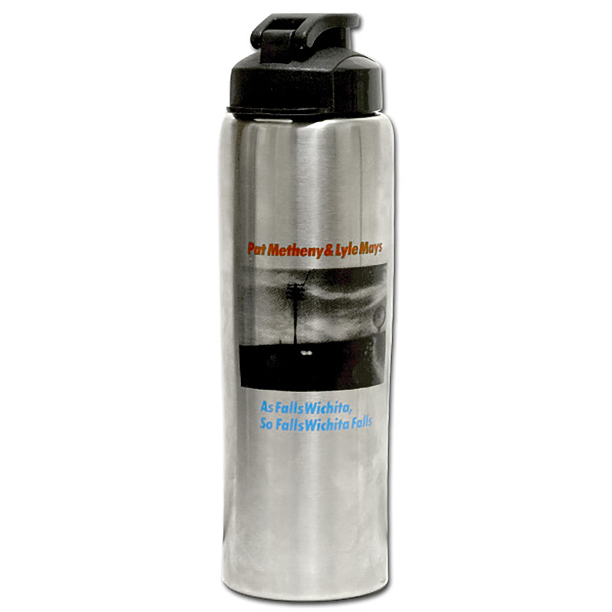 Pat Metheny - As Falls Wichita, So Falls Wichita Falls Water Bottle