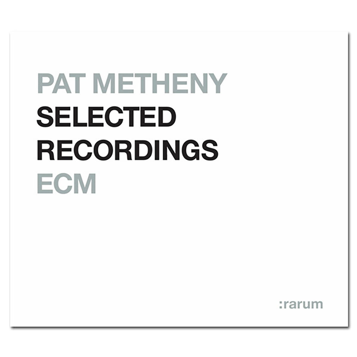 Pat Metheny - Rarum IX / Selected Recordings - Digital Download