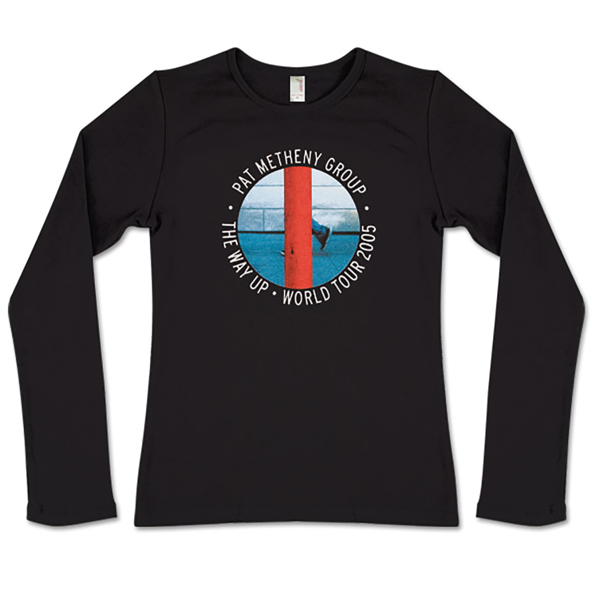Pat Metheny - Ladies' This Way Up Long Sleeve Shirt