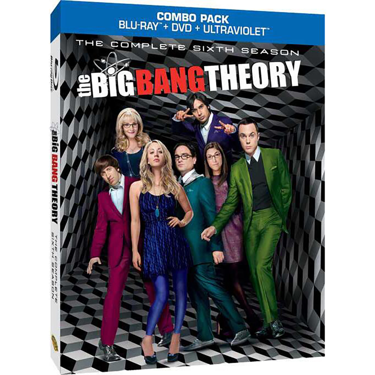 The Big Bang Theory: Season 6 Blu-ray -  DVDs & Videos 6445-513882
