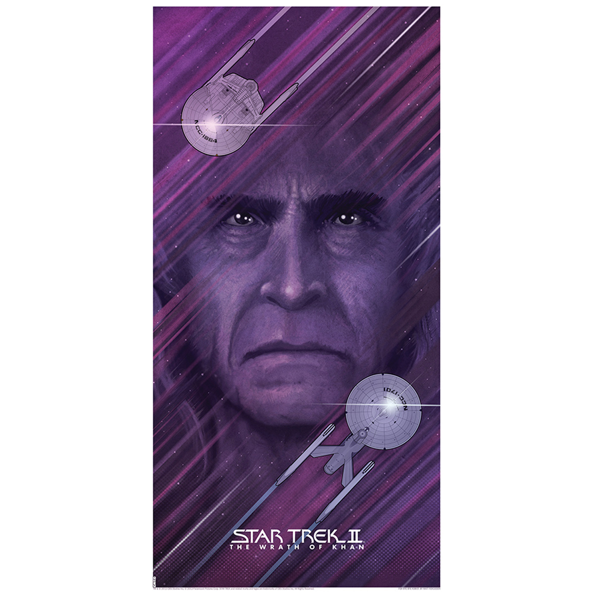 Star Trek II: The Wrath Of Khan Lithograph [12x24]