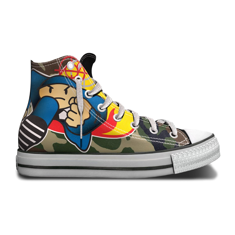 Duck Down x TRPL Threat Sneaker