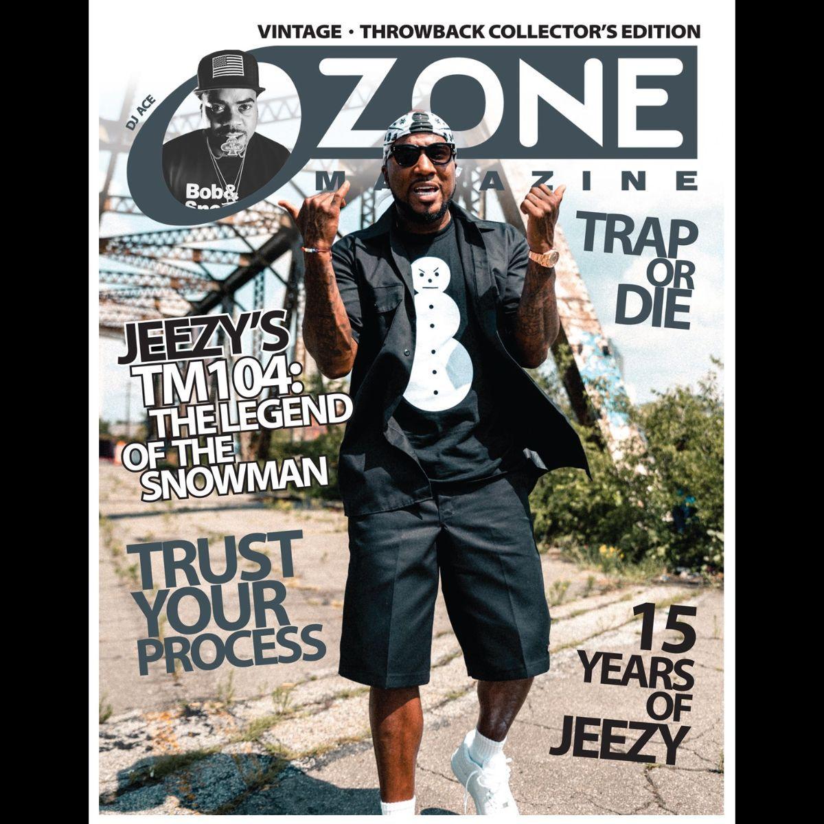 Jeezy Special Edition Ozone Magazine