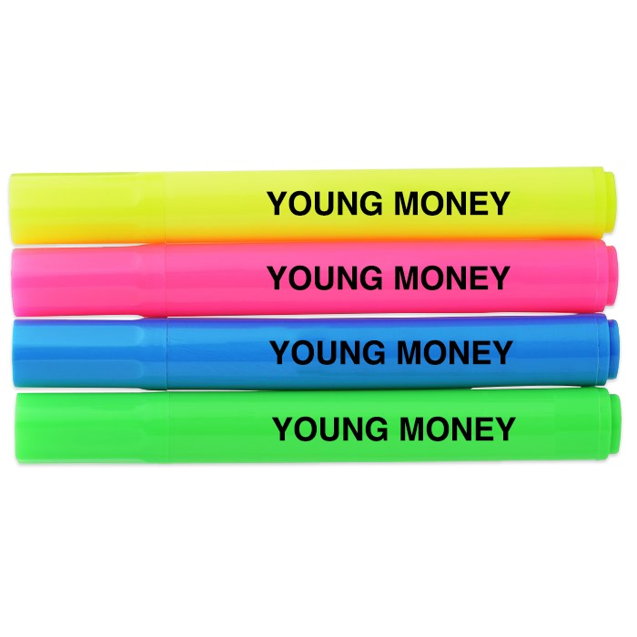 YME Highlighters (4 Pack)