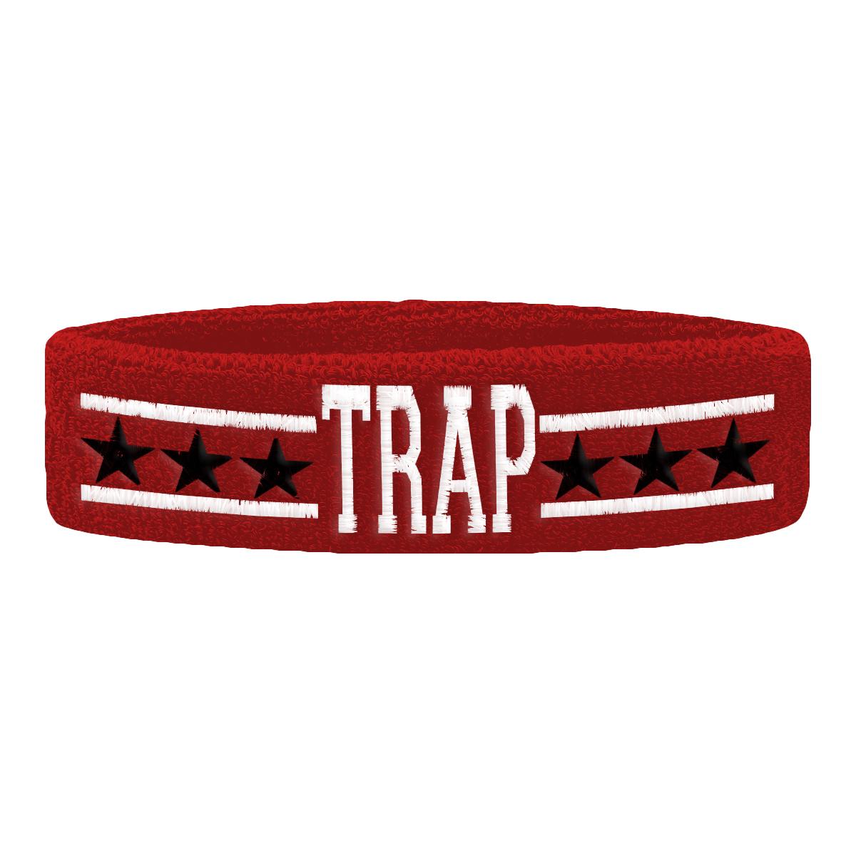 TRAP All Stars Sweatband [Red]