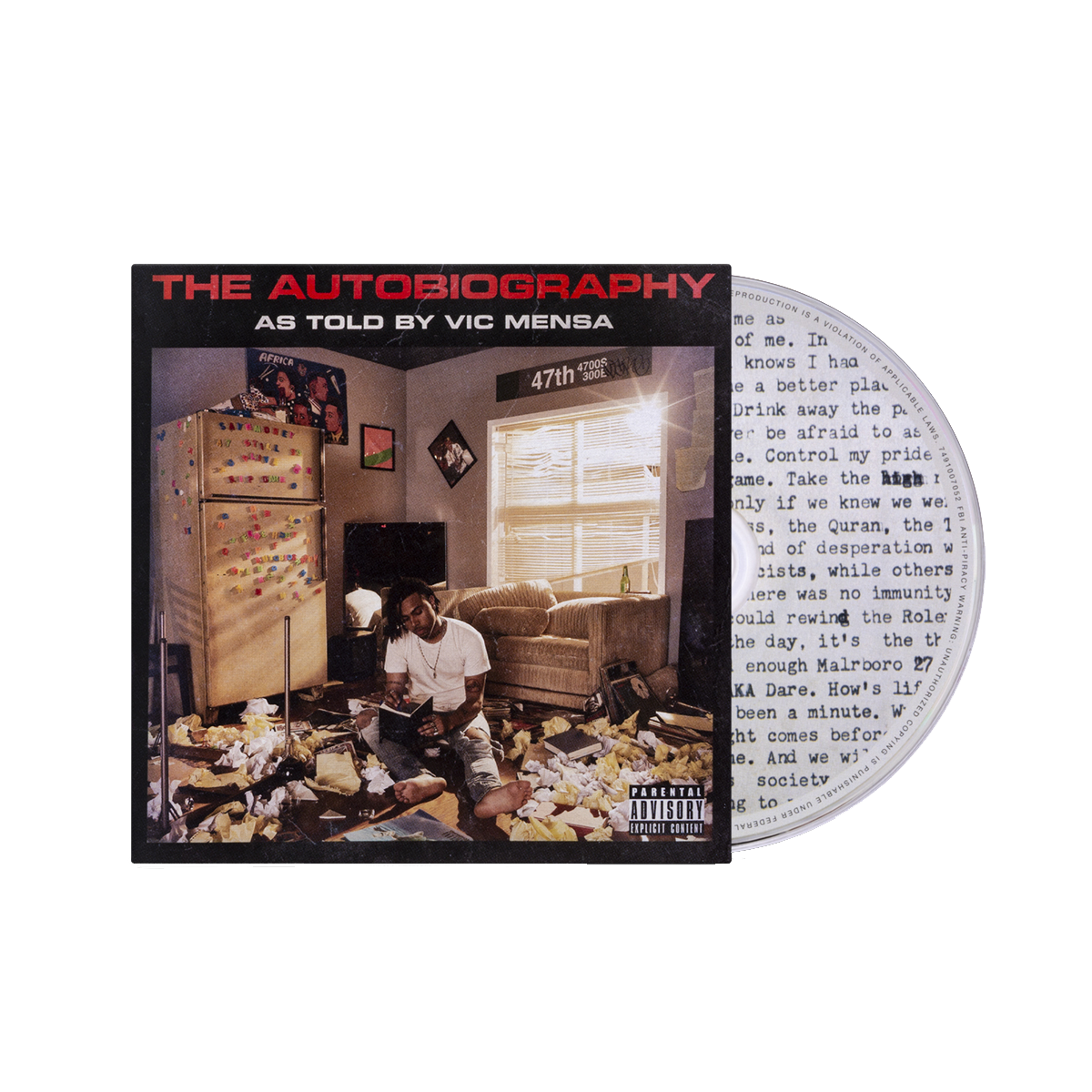 The Autobiography CD