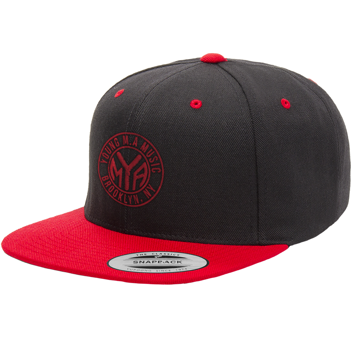 Young M.A Snapback Hat