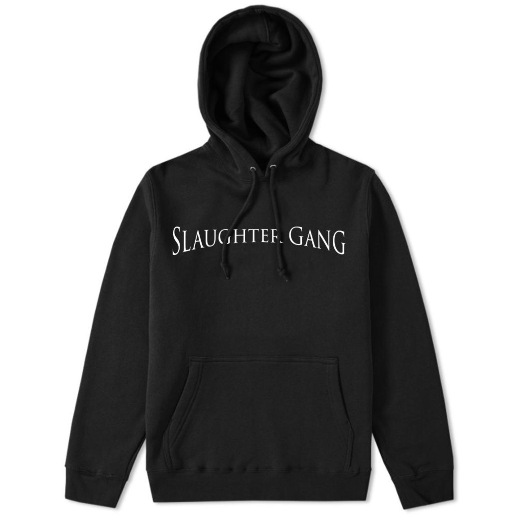 Slaughter Gang Black Hoodie