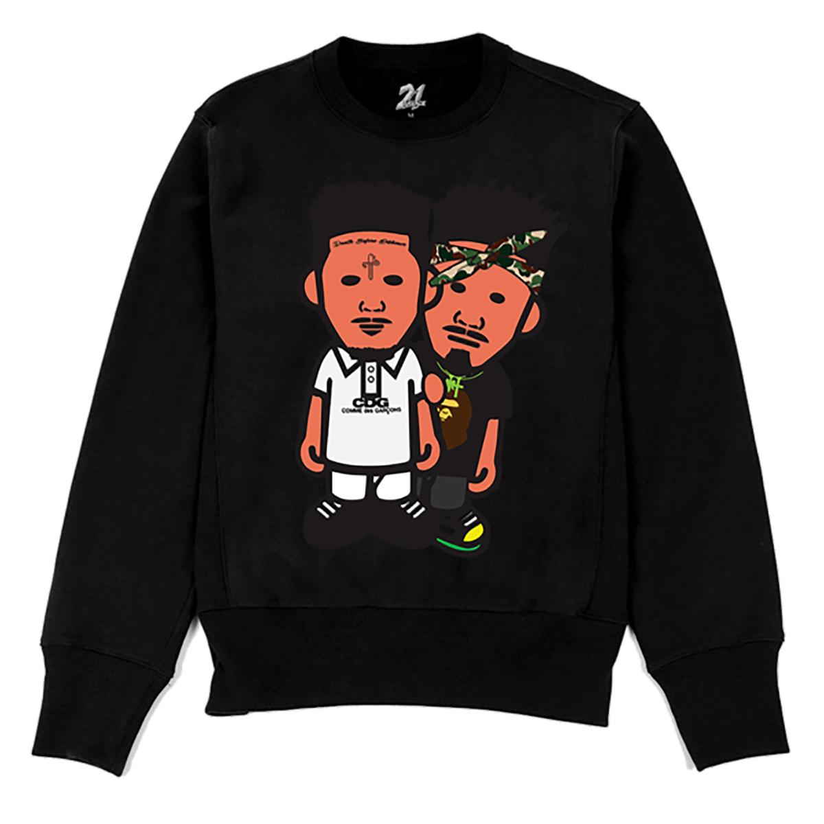 Bape Flip Crewneck Sweatshirt