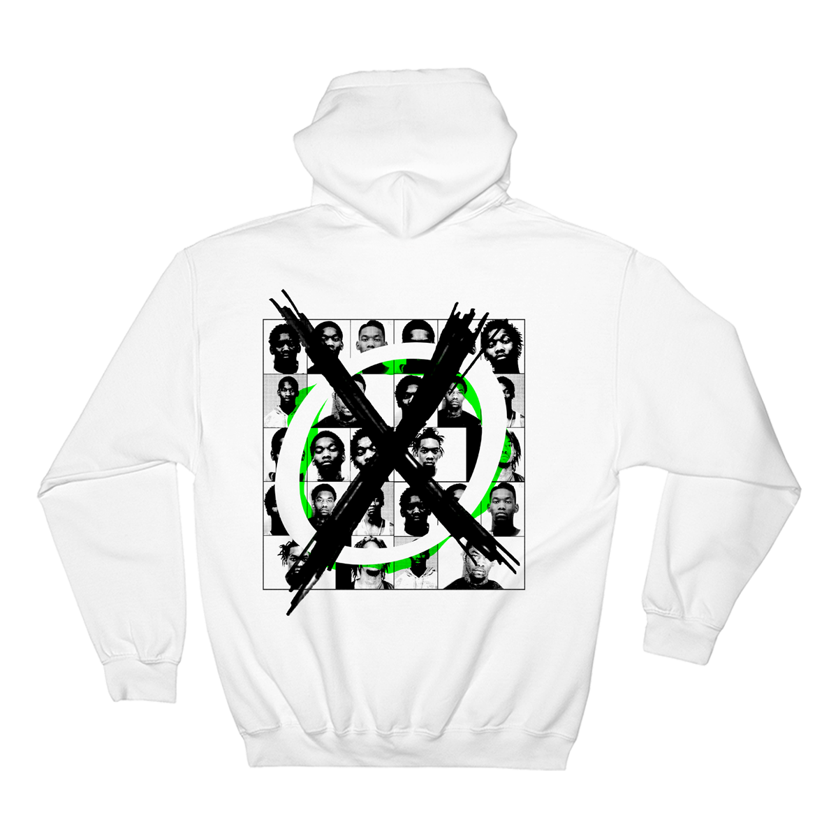 Cross Out Hoodie (White) + Father Of 4 Download