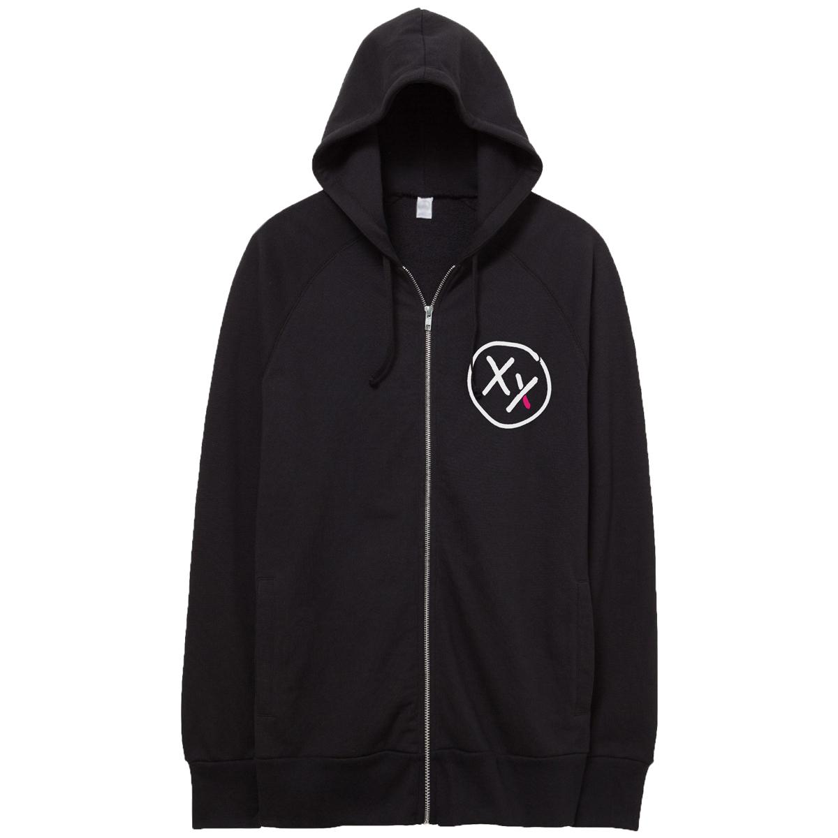 XX Logo Zip-up Hoodie