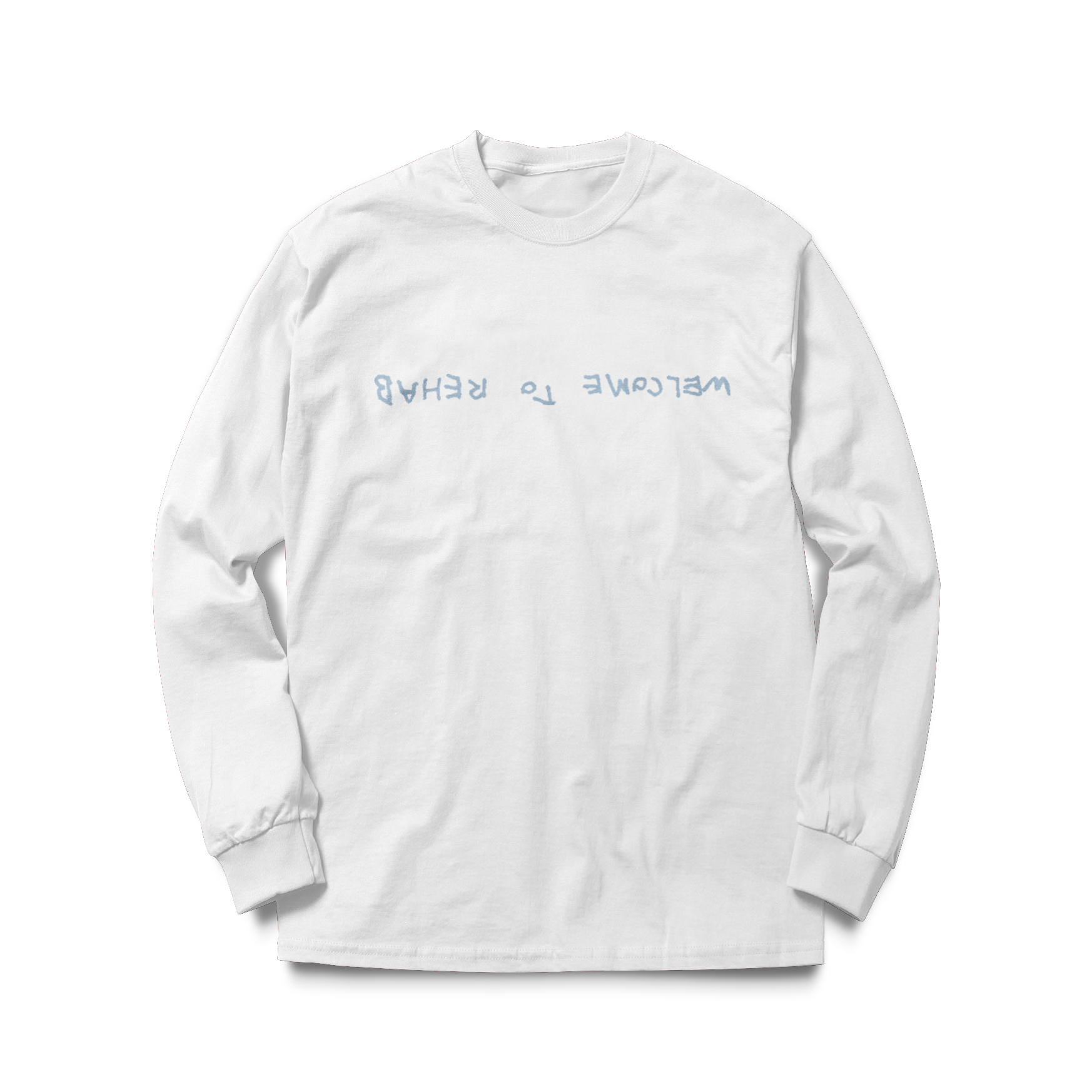 Rehab White Long Sleeve Tee