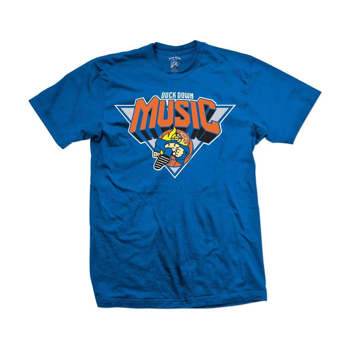 Duck Down Blue and Orange T-Shirt